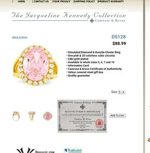 Jewelry - 🎉SALE: Jacqueline Kennedy Collection Ring